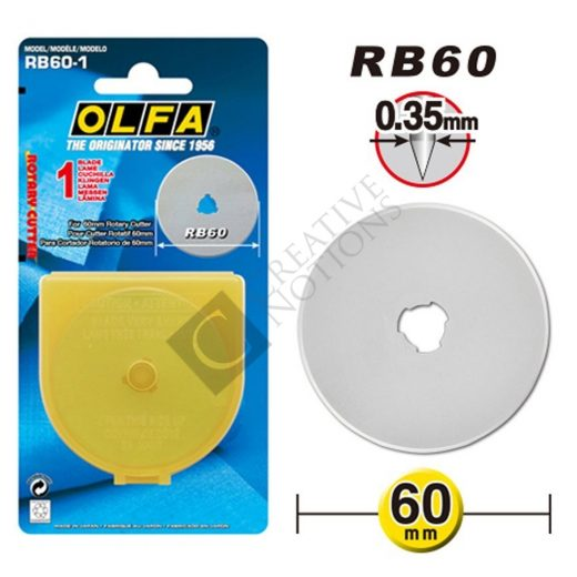 Rotary Cutter Blade - Olfa RB60