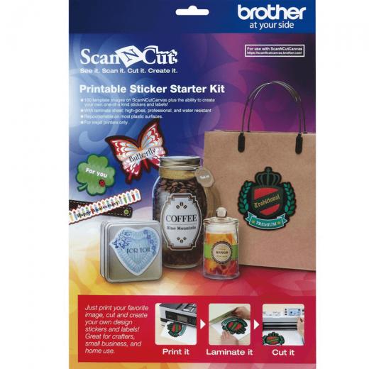 ScanNCut Sticker Kit