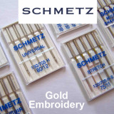 Schmetz Needles - Gold Embroidery