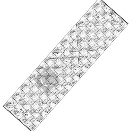 Sew Mate Quilting Acrylic Ruler Ruler