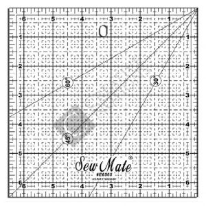 Sew Mate Square Quilting Ruler