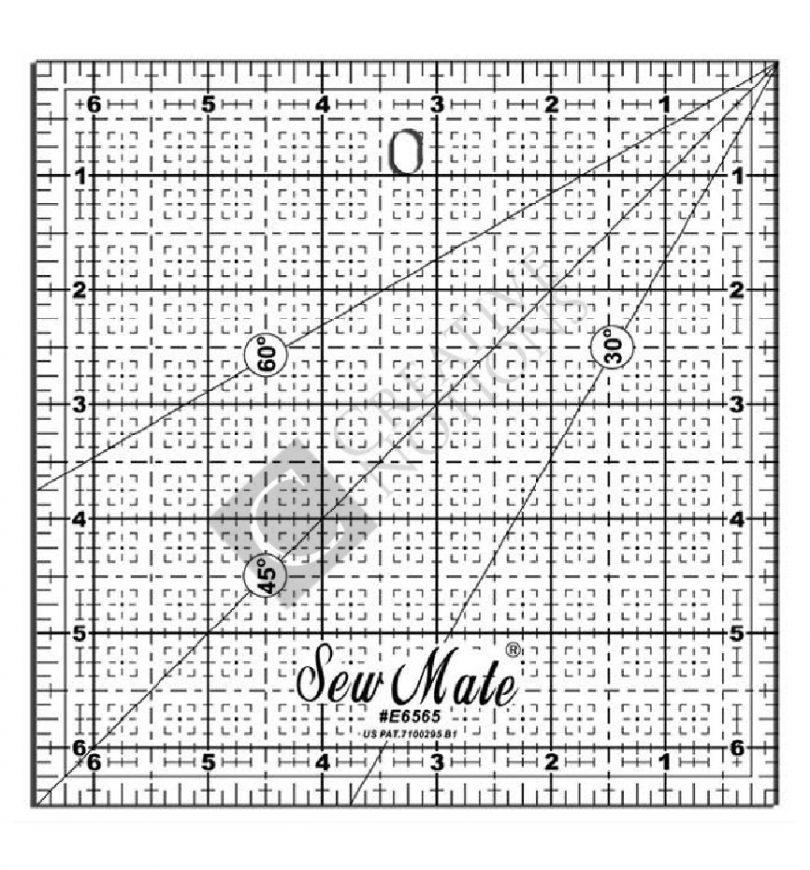 Sew Mate Square Quilting Ruler