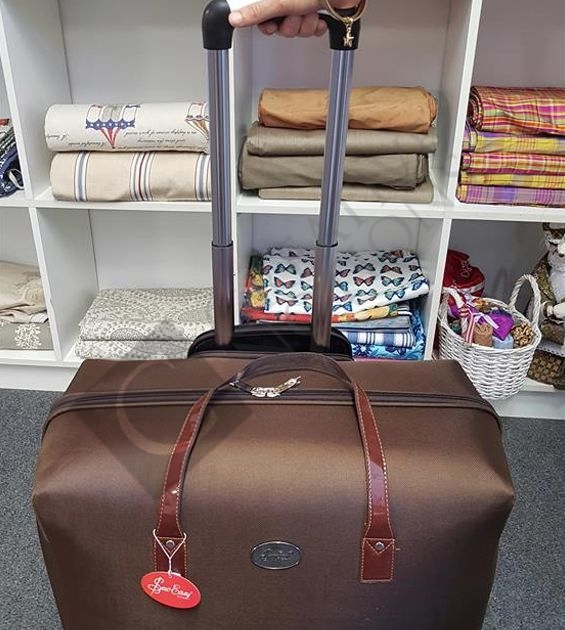Sewing Machine Trolley Bag With Wheels