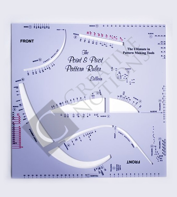 Sewing Pattern Making Ruler