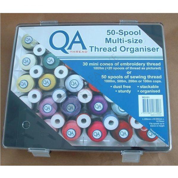 Sewing Thread Storage - 50 Spool Multi-size