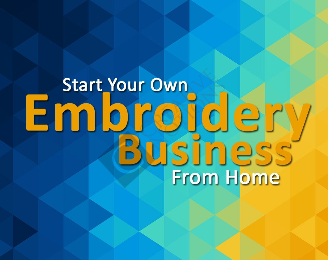 embroidery machine home business