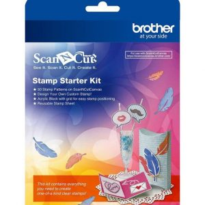 Brother ScanNCut Stamp Starter Kit