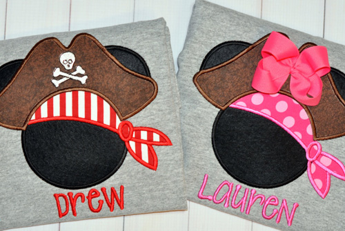 Embroidered Appliqué
