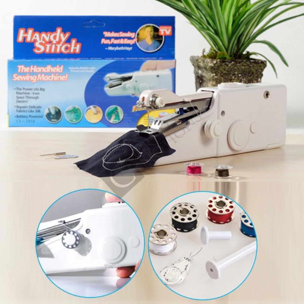 handheld portable sewing machine