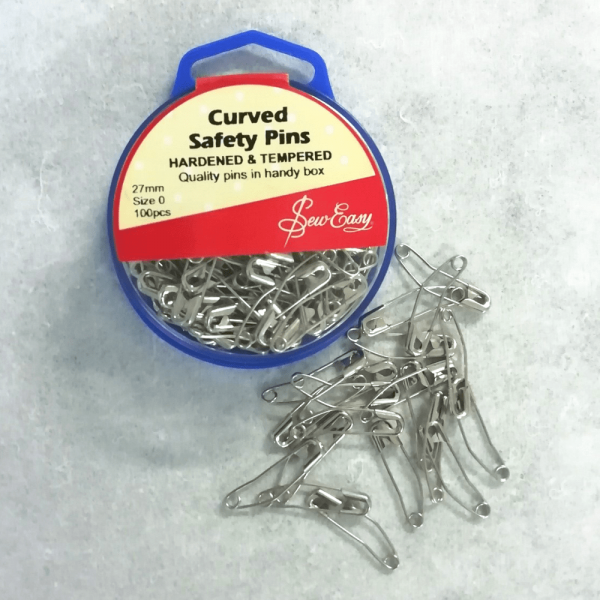 Curved Quilt Basting Pins 27mm 150 pcs