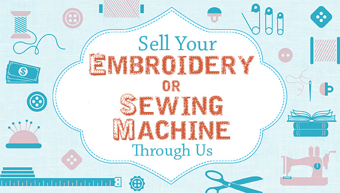Sell your embroidery machine